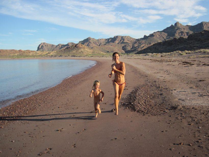 mel-bj-beach-running